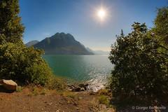 Today is a good day... (giobertaskin) Tags: canon giorno buon today oggi hdr fisheye riva montagna monte mountain sun sole sebino lagod'iseo lake lago