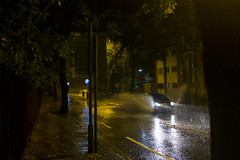 Pre-dawn downpour, Kings Heath (new folder) Tags: birmingham birminghamuk kingsheath rain nightshot cartlandroad
