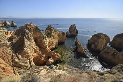 Ponta Da Piedade (James Mans) Tags: d5500 nikon portugal europe 1020mm coastline coast sea lagos cliff ponta da piedade sun blue sky