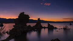 Mono Lake Twilight #3 (topendsteve) Tags: sierra sierras us395 eastern lake mountain outdoors sky clouds fall autumn yellow orange tree trees water aspen bristlecone bishop