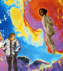 Heard On High (owlwise12) Tags: collage photomontage surreal paper handmade psyche dreams nightmares collageaday