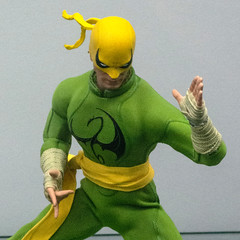Iron Fist Details (misterperturbed) Tags: mezco mezcoone12collective nycc nycc2019 newyork newyorkcomiccon newyorkcomiccon2019 one12collective ironfist