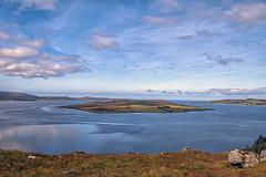 Gruinard Island (Fil.ippo) Tags: littlelochbroom shell loch lake sea water waterscape landscape highlands scotland panorama sky clouds cielo nuvole isle isola filippobianchi filippo xt2 fuji gruinardisland