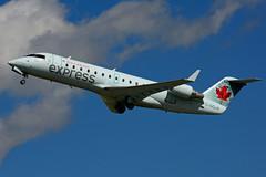 C-GQJA (Air Canada EXPRESS - JAZZ) (Steelhead 2010) Tags: yxu creg aircanada aircanadaexpress jazz cgqja canadair crj crj200 bombardier