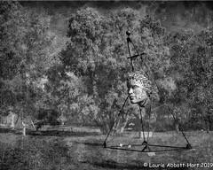 20191003New Mexico Fun33237-Edit (Laurie2123) Tags: bnw fujixt2 laurieabbottturner laurieabbotthartphotography laurietakespics newmexico santafe shidonigalleriessculpturegarden art blackandwhite mono monotone