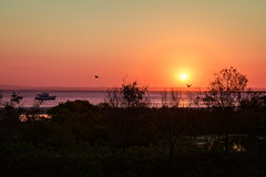 sunset from buckley's hole (Fat Burns ☮) Tags: landscape sunset boat cruiser bribieisland sea ocean buckleyshole nikond850 nikon 24120mmf4vrg nature outdoors lagooncreekbarcaldine qld australia