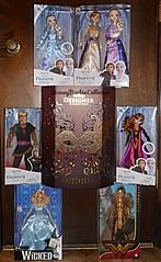 Treating Myself (DisneyBarbieCollector) Tags: disney frozen elsa anna kristoff the hunchback notre dame esmeralda barbie wonder woman wicked glinda dolls toys