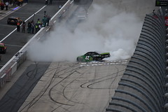 DSC_0619 (w3kn) Tags: nascar monster energy cup series dover speedway 2019 drydene 400 mile kyle larson burnout celebration
