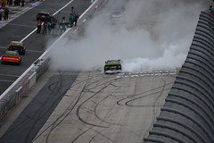 DSC_0620 (w3kn) Tags: nascar monster energy cup series dover speedway 2019 drydene 400 mile kyle larson burnout celebration