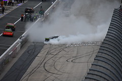 DSC_0624 (w3kn) Tags: nascar monster energy cup series dover speedway 2019 drydene 400 mile kyle larson burnout celebration