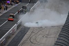 DSC_0630 (w3kn) Tags: nascar monster energy cup series dover speedway 2019 drydene 400 mile kyle larson burnout celebration