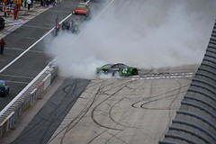 DSC_0652 (w3kn) Tags: nascar monster energy cup series dover speedway 2019 drydene 400 mile kyle larson burnout celebration