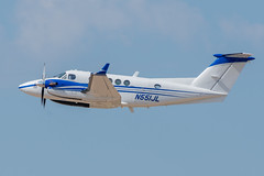 N551JL Beech Super King Air 200 (SamCom) Tags: kafw afw alliancefortworth n551jl beech superkingair200
