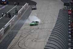DSC_0605 (w3kn) Tags: nascar monster energy cup series dover speedway 2019 drydene 400 mile kyle larson burnout celebration