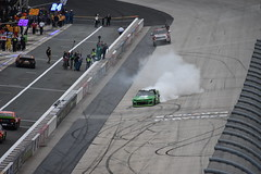 DSC_0608 (w3kn) Tags: nascar monster energy cup series dover speedway 2019 drydene 400 mile kyle larson burnout celebration