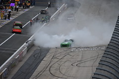 DSC_0634 (w3kn) Tags: nascar monster energy cup series dover speedway 2019 drydene 400 mile kyle larson burnout celebration