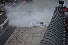 DSC_0642 (w3kn) Tags: nascar monster energy cup series dover speedway 2019 drydene 400 mile kyle larson burnout celebration