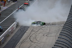 DSC_0653 (w3kn) Tags: nascar monster energy cup series dover speedway 2019 drydene 400 mile kyle larson burnout celebration