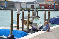 The Kids On Murano (Joe Shlabotnik) Tags: italia 2019 italy murano boat canal violet everett april2019 venice venezia afsdxvrzoomnikkor18105mmf3556ged