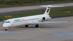 LZ-LDW Bulgarian Air Charter McDonnell Douglas MD-82 (DC-9-82) (°TKPhotography°) Tags: lzldw bulgarian air charter mcdonnell douglas md82 dc982 cologne bonn airport aviation classic canon 7d flickr