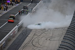 DSC_0629 (w3kn) Tags: nascar monster energy cup series dover speedway 2019 drydene 400 mile kyle larson burnout celebration