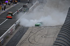 DSC_0633 (w3kn) Tags: nascar monster energy cup series dover speedway 2019 drydene 400 mile kyle larson burnout celebration