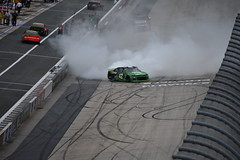 DSC_0637 (w3kn) Tags: nascar monster energy cup series dover speedway 2019 drydene 400 mile kyle larson burnout celebration