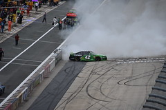 DSC_0647 (w3kn) Tags: nascar monster energy cup series dover speedway 2019 drydene 400 mile kyle larson burnout celebration