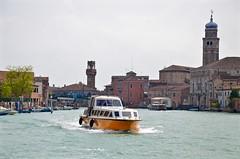 Canale Degli Angeli (Joe Shlabotnik) Tags: venice italy boat italia belltower campanile murano venezia 2019 afsdxvrzoomnikkor18105mmf3556ged april2019 canal