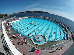 lido (chrisinplymouth) Tags: lido pool swimmingpool tinside plymouth devon england plain uk city xg cw69x fisheye seaside hoe explored inexplore