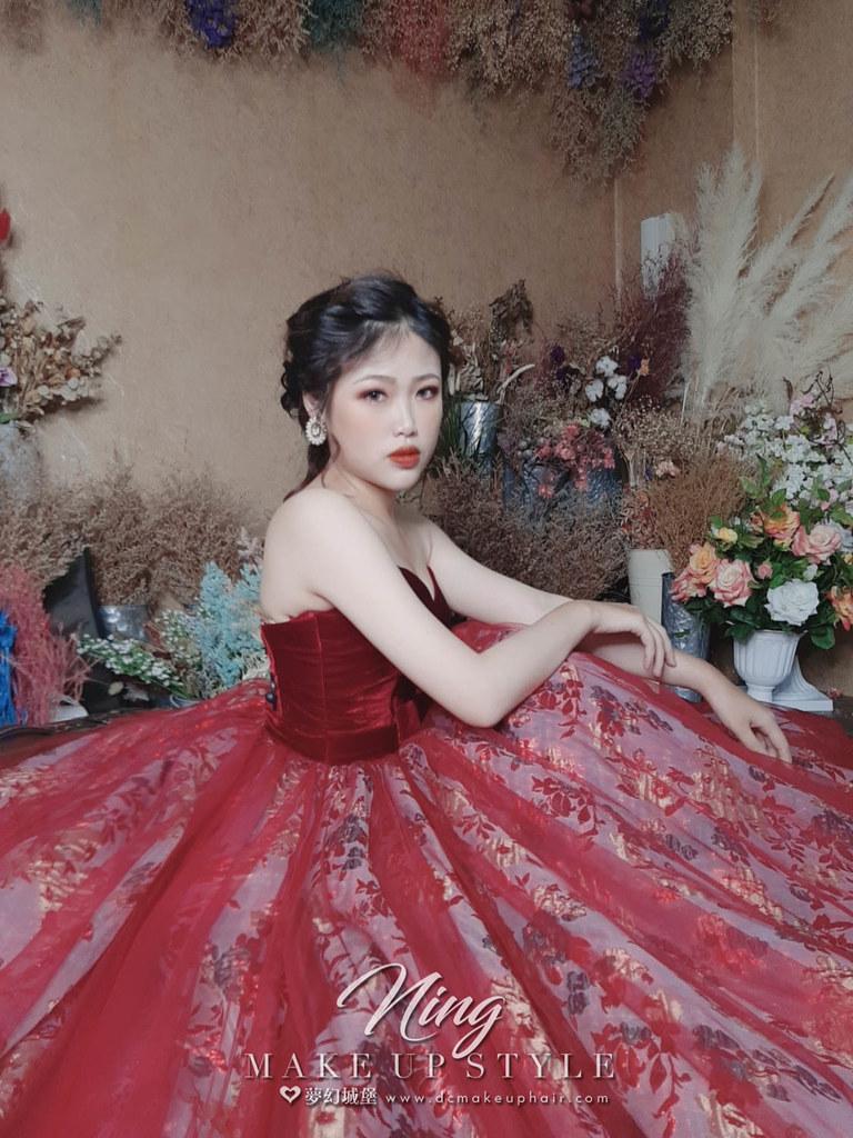 【新秘羽寧】新娘造型創作 / 華麗編髮