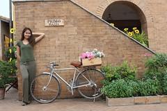 portrait (ChalidaTour) Tags: thailand thai asia asian girl femme fils chica nina woman teen sweet cute beautiful pretty petite slender slim bicycle portrait