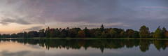 Autumn colors Tervuren (In Flanders Fields Photography) Tags: colors autumn fall lake trees tree sunset blue hour sky reflection outdoors no people scenic landscape nature panorama panoramic
