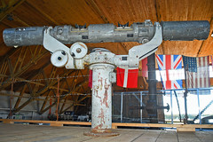 OPL Raumbild Entfernungsmesser 2,5 metre (Nils Mosberg) Tags: listerforsvarshistoriskeforening oplraumbildentfernunsmesser25metre atlanticwall atlantikwall festunglista stereoscopicrangefinder
