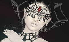 Face Your Fears (Reaghan Resident) Tags: pkc we3roleplay 7deadlyskins darkstylefair astralia lushposes curves event fashion secondlife newrelease shopping halloween catwa