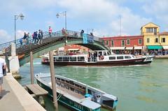 Ponte Longo (Joe Shlabotnik) Tags: italia bridge 2019 italy murano canal boat april2019 venice venezia afsdxvrzoomnikkor18105mmf3556ged