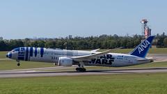 ANA - STAR WARS JA873A  in VIE 21.09.2019 (michal.marienka) Tags: viennaairport dreamliner boeing 787 loww plane spotter schwechat