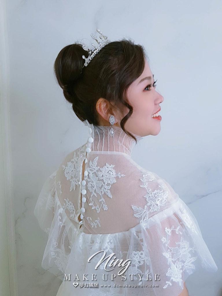 【新秘羽寧】新娘造型創作 / 韓系小公主