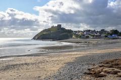 Criccieth, North Wales (Baz Richardson) Tags: wales llynpeninsula criccieth coast beaches smalltowns