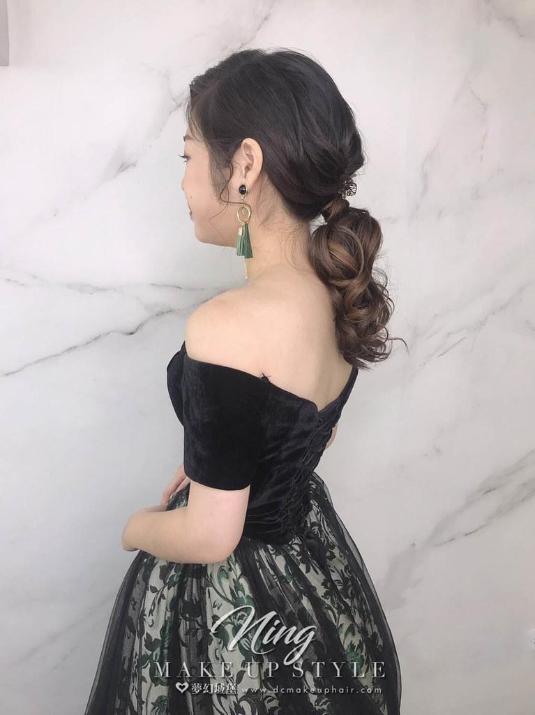 【新秘羽寧】新娘造型創作 / 歐式復古