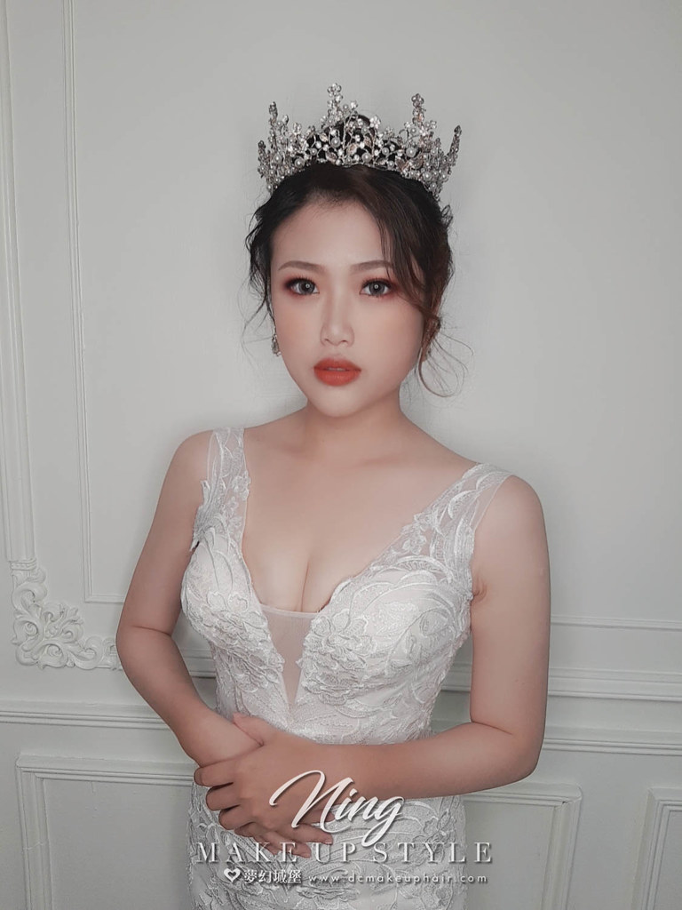 【新秘羽寧】新娘造型創作 / 華麗公主風