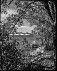 Lake Ontario (Uta_kv) Tags: homedevelped 6x7 torontomparkdalemcanada blackandwhitephotography mediumformatrangefinder d76 redfilter mediumformatcamera ultrafine400 6x7format fujinon100mm fujcagm670gm670 film rangefinder