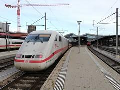 ICE in Basel SBB (Attus74) Tags: ice db deutschebahn 401 zug train