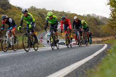 POWERING AWAY (skysthelimit333) Tags: tourdeyorkshire cyclerace cyclist bike wheels yorkshire