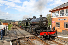 53808 Class 7F (Roger Wasley) Tags: 53808 class 7f 6412 gwr 060pt blueanchor station steam locomotive train engine west somerset railway great western fowler heritage preserved preservation