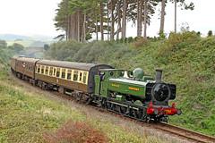 7752 GWR 0-6-0PT (Roger Wasley) Tags: 7752 gwr 060pt watchet great western railway west somerset steam locomotive engine heritage preserved preservation train