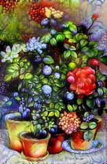 Still life (V_Dagaev) Tags: stilllife flowers art painterly painting painter paintingsfromphotos paint digital dynamicautopainter visualdelights