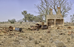 Outback Ruins (Arcus Cloud) Tags: hdr hdrpanorama hdrlandscape hdrphotography hdrlandscapes landscape landscapes landscapephotography australia australianlandscape australian australianlandscapes panorama pano panoramic panoramaphotography photography photomatix ptgui photomatixpro abandoned abandonedinhdr abandonedandderelict abandonedaustralia abandonedbuilding abandonedstructure derelict decaying dereliction