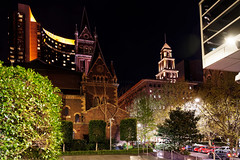 20190929-64-CHurch at night (Roger T Wong) Tags: 2019 australia chucrch melbourne rogertwong sel24105g sony24105 sonya7iii sonyalpha7iii sonyfe24105mmf4goss sonyilce7m3 victoria courtyard garden night
