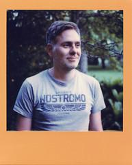 Anders (Magnus Bergström) Tags: polaroid polaroid680slr polaroidoriginals polaroidslr680 instant film instantfilm karlstad sweden sverige värmland wermland color portrait frame stadsträdgården nostromo alien